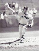 Mark Fidrych BW Detroit Tigers 8X10 Photo