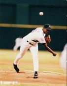 Dwight Gooden Tampa Bay Devil Rays 8X10 Photo
