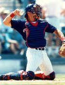 Brian Harper Minnesota Twins 8X10 Photo