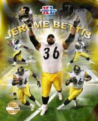 Jerome Bettis Limited Edition Super Bowl 8X10 Photo -