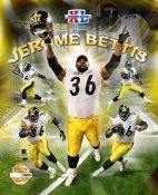 Jerome Bettis Limited Edition Super Bowl 8X10 Photo -