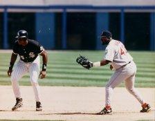 Frank Thomas & Mo Vaughn White Sox Red Sox 8x10 Photo