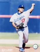 Kazuhusa Ishil Los Angeles Dodgers 8X10 Photo