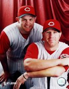 Adam Dunn and Austin Kearns Cincinnati Reds 8x10 Photo  LIMITED STOCK RARE