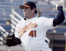 Steve Kline Baltimore Orioles 8X10 Photo