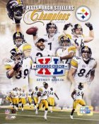 Steelers 2006 Champs Composite 2 Super Bowl 40 LIMITED STOCK 8x10 Photo
