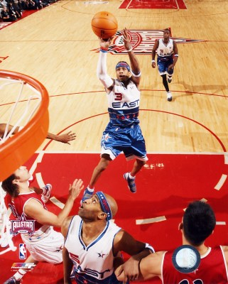 Allen Iverson 2006 All-Star Game LIMITED STOCK 8x10 Photo