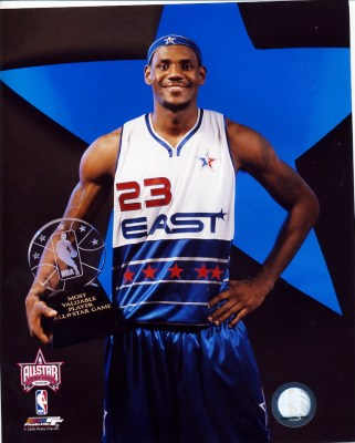 LeBron James 2006 All-Star Game 8x10 Photo LIMITED STOCK