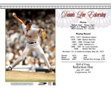 Dennis Eckersley LIMITED STOCK HOF Boston Red Sox 8x10 Card Stock