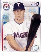 Laynce Nix Texas Rangers 8X10 Photo