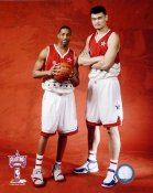 Tracy McGrady and Yao Ming 2006 All-Star Game 8x10 Photo