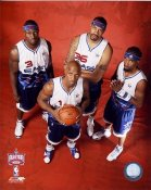 Rasheed Wallace Chauncy Billups Ben Wallace and Richard Hamilton 2006 All-Star Game 8x10 Photo LIMITED STOCK
