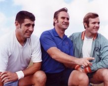 Don Shula,Bob Griese and Earl Morral  Miami Dolphins 8X10 Photo