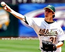 Kirk Sarloos Oakland A's 8X10  Photo