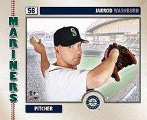 Jarrod Washburn 2006 Studio Seattle Mariners 8X10 Photo