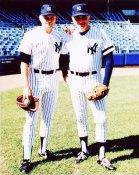 Phil Niekro & Joe Niekro New York Yankees 8X10 Photo