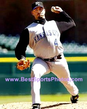 Jeremy Affeldt Kansas City Royals 8X10 Photo
