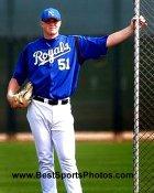 Andy Sisco Kansas City Royals 8X10 Photo