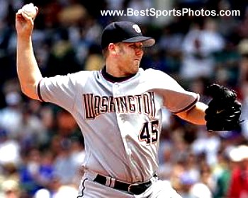 Ryan Drese Washington Nationals 8X10 Photo