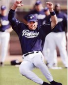 Mike Piazza LIMITED STOCK San Diego Padres 8X10 Photo