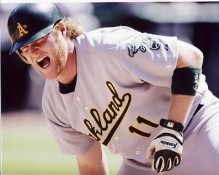 Dan Johnson Oakland A's 8X10  Photo