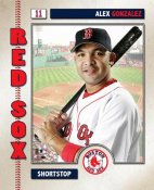 Alex Gonzalez 2006 Studio LIMITED STOCK Boston Red Sox 8x10 Photo