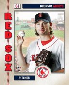 Bronson Arroyo LIMITED STOCK 2006 Studio Boston Red Sox 8x10 Photo