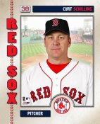 Curt Schilling 2006 Studio Boston Red Sox 8x10 Photo