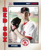 Matt Clement 2006 Studio Boston Red Sox 8x10 Photo