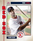 Mike Lowell 2006 Studio LIMITED STOCK Boston Red Sox 8x10 Photo