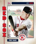 JT Snow 2006 Studio LIMITED STOCK Boston Red Sox 8x10 Photo
