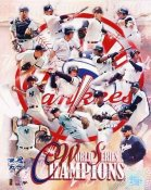 Yankees 2000 Champs Composite World Series  8X10 Photo LIMITED STOCK