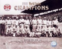 Boston 1918 Red Sox Champs World Series SATIN 8x10 Photo