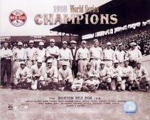 Boston 1918 Red Sox Champs World Series SATIN 8x10 Photo
