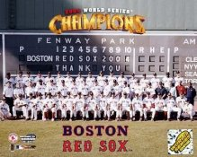 Boston 2004 World Series Sit Down Boston Red Sox LIMITED STOCK 8x10 Photo
