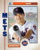 Kaz Matsui 2006 Studio NY Mets 8X10 Photo