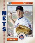 Paul LoDuca 2006 Studio LIMITED STOCK NY Mets 8X10 Photo
