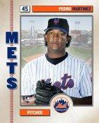 Pedro Martinez 2006 Studio NY Mets 8X10 Photo