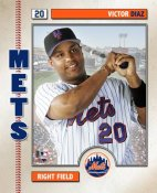 Victor Diaz 2006 Studio NY Mets 8X10 Photo