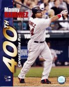 Manny Ramirez 400th Career Home Run LIMITED STOCK Boston Red Sox 8x10 Photo