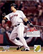 Manny Ramirez Game 3 2004 World Series LIMITED STOCK Boston Red Sox 8x10 Photo