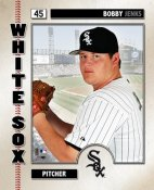 Bobby Jenks Studio LIMITED STOCK Chicago White Sox 8x10 Photo