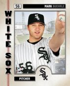 Mark Buehrle LIMITED STOCK Studio Chicago White Sox 8x10 Photo