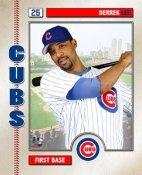 Derrek Lee LIMITED STOCK Studio Chicago Cubs 8X10 Photo