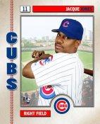 Jacque Jones Studio Chicago Cubs 8X10 Photo