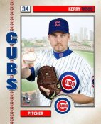 Kerry Wood Studio Chicago Cubs 8X10 Photo