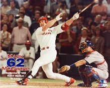 Mark McGwire LIMITED STOCK St Louis Cardinals 8x10 Photo