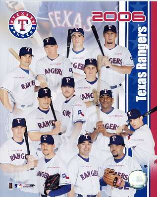 Rangers 2006 Team Composite 8x10 Photo