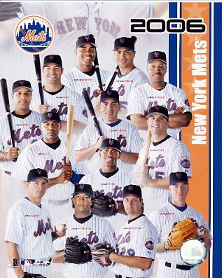 Mets 2006 Team Composite 8X10 Photo