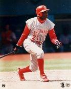 Deion Sanders Cincinnati Reds 8x10 Photo